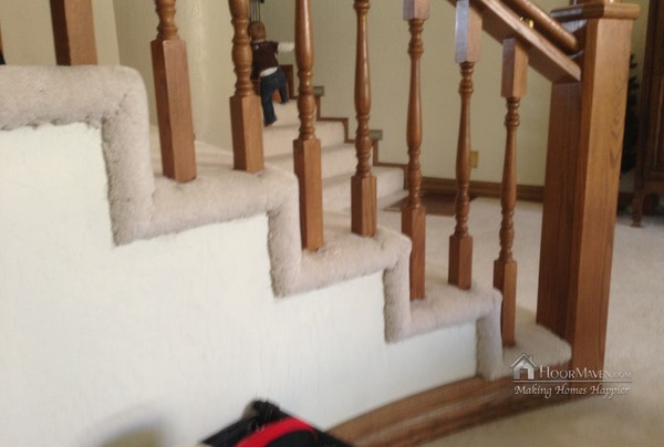 01 Carpeted Staircase