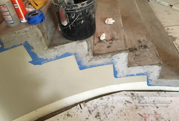 05 Patching staircase
